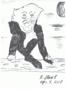 alien monkey